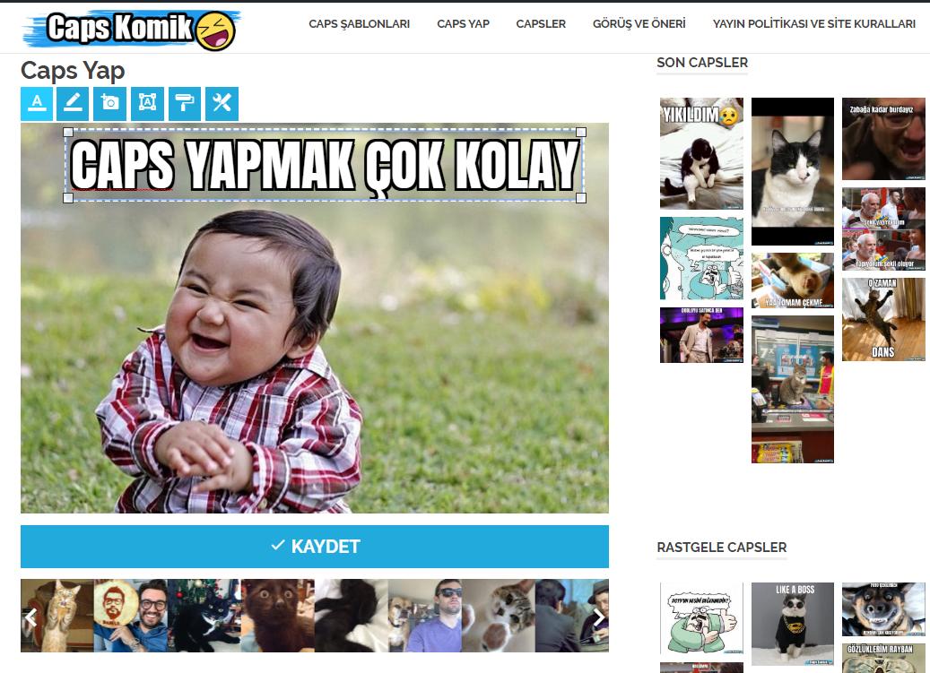 Komik Caps Yap