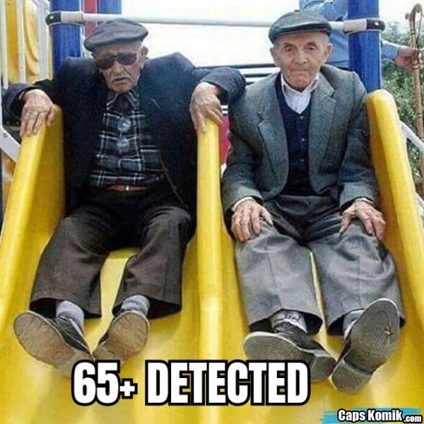 65+ DETECTED