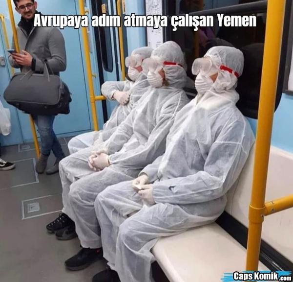 Avrupaya adım atmaya çalışan Yemen