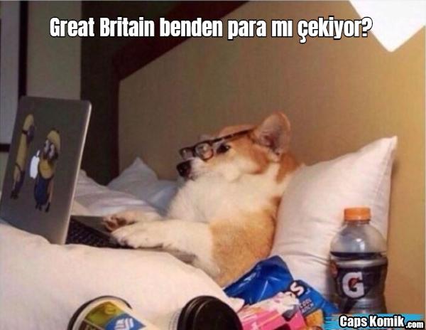 Great Britain benden para mı çekiyor?