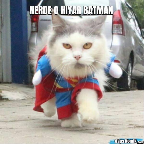 NERDE O HIYAR BATMAN