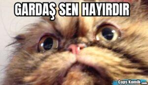 GARDAŞ SEN HAYIRDIR