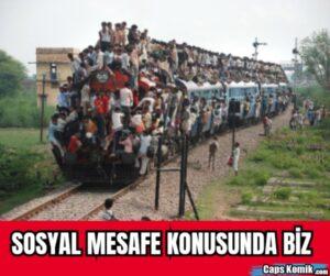 SOSYAL MESAFE KONUSUNDA BİZ