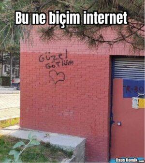Bu ne biçim internet