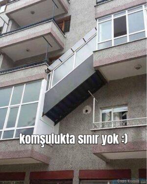 komşulukta sınır yok :)