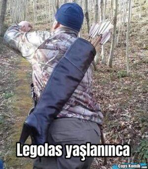 Legolas yaşlanınca