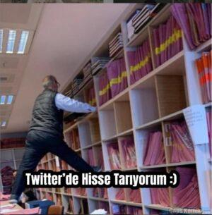 Twitter'de Hisse Tarıyorum :)