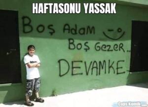 HAFTASONU YASSAK