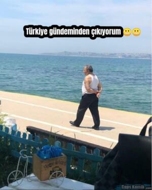Türkiye gündeminden çıkıyorum 😬😬