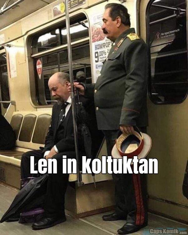 Len in koltuktan