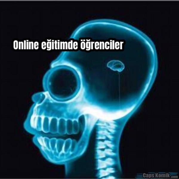 Online eğitimde öğrenciler