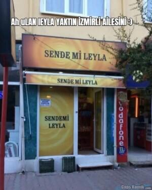 Ah uLAN lEYLA YAKTIN İZMİRLİ AİLESİNİ :)