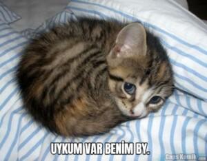 UYKUM VAR BENİM BY.