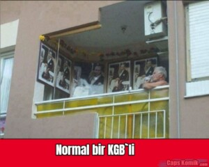 Normal bir KGB`li