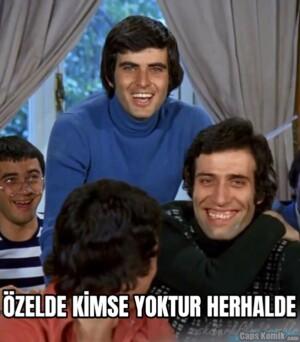 ÖZELDE KİMSE YOKTUR HERHALDE