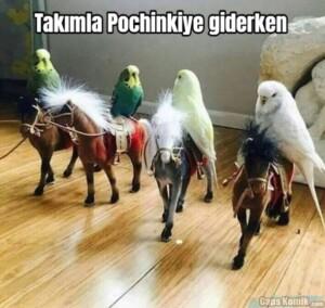 Takımla Pochinkiye giderken