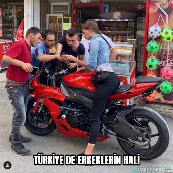 TÜRKİYE DE ERKEKLERİN HALİ