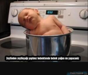 Zeytinden zeytinyağı yaptınız bebektende bebek yağını mı yapacaniz