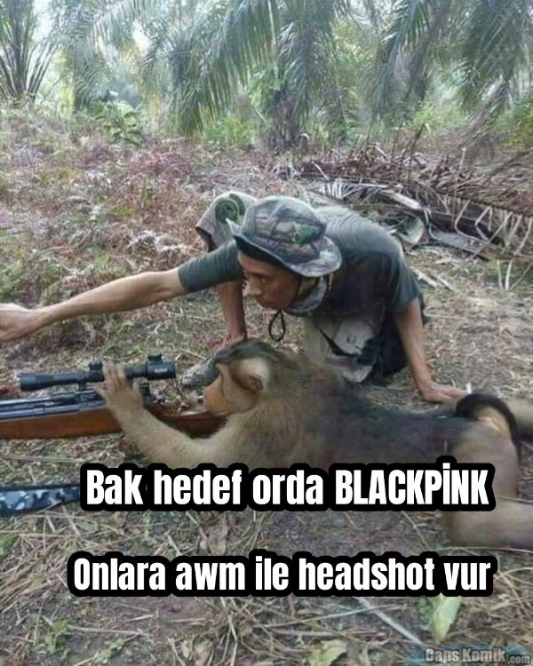 Bak hedef orda BLACKPİNK... Onlara awm ile headshot vur