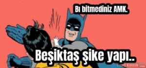 Beşiktaş şike yapı….. Bı bitmediniz AMK.