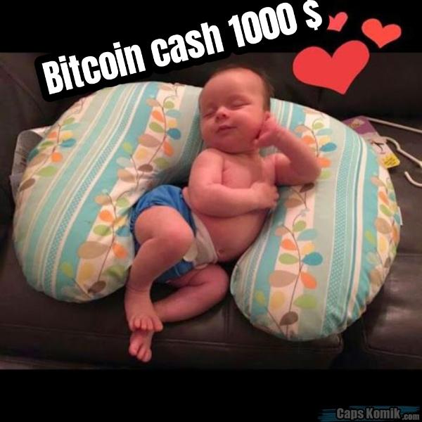 Bitcoin cash 1000 $