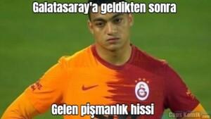 Galatasaray'a geldikten sonra… … Gelen pişmanlık hissi