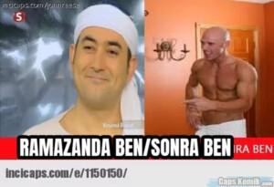RAMAZANDA BEN/SONRA BEN