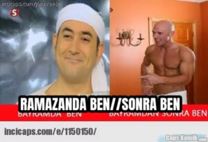 RAMAZANDA BEN//SONRA BEN